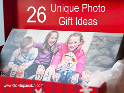 26 Unique Photo Gift Ideas Click It Up A Notch